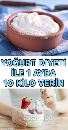 I lost 10 pounds in a month with yogurt diet - Yoğurt Diyetiyle 1 Ayda 10 Kilo Zayıfladım I lost 10 pounds in a month with yogurt diet. Calendula Benefits, Lemon Benefits, Matcha Benefits, Health Benefits, Health Diet, Health Fitness, Losing 10 Pounds, The Best, The Cure