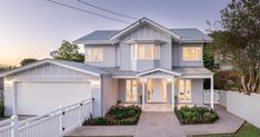 Property Report for 16 Doyle Street, Coorparoo QLD 4151 Exterior Paint Colors For House, Dream House Exterior, Dream House Plans, House Floor Plans, House Colors, Carport Designs, Build Your Own House, House Front, Front Porch