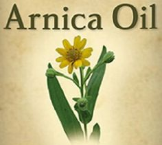 ARNICA HERBAL OIL for External Use to Reduce Swelling Pain Muscle Aches