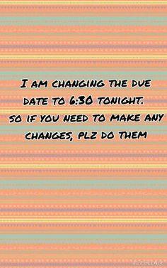 6:30 tonight