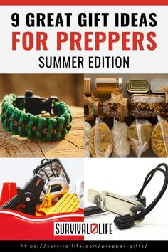 Looking to get your survivalist friends something nice just because you want to? Check out some of the best prepper gifts that they will definitely love. #preppergiftideas #prepperitem #survivalitem #survival #preparedness #survivallife Survival Items, Survival Life, Survival Gear, Survival Skills, Hand Crank Radio, Food Rations, Flint Fire Starter, Thermal Blanket