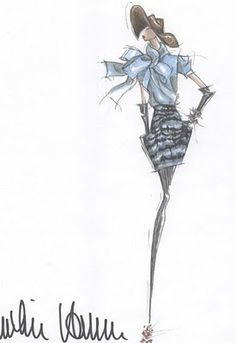 The Fashion Illustrator: Fall 2010 Inspirations (Part 1)