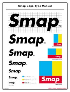Logo - Smap ポスター&キャンペーン « TDC TOKYO JPN