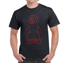 Camiseta Daredevil Diseño Logo Lineal de SportShirtFactory en Etsy