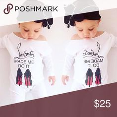 New top fashion onesie Brand new, size 12-18 months. FASHION onesie one of the kind!..... BOUTIQUE BRAND! Christian Louboutin One Pieces Bodysuits