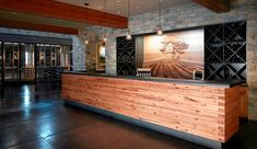 Our Oakville Tasting Room Bar.
