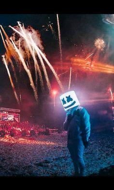 Marshmello DJ HD | Papel de parede | Pinterest | Papeis de ...