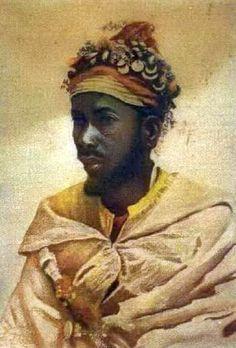 Bust of Arab man by Jose Tapiro y Baro