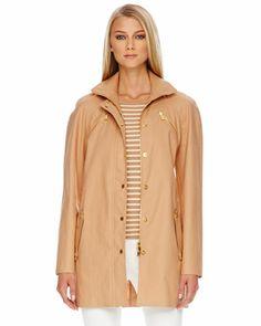 Michael Kors Zip-Front Jacket.