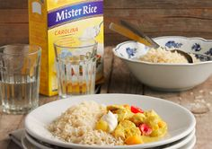 Riz Casimir- works with any loose rice. Soul Food, Switzerland, Risotto, Feel Good, Sushi, Oatmeal, Curry, Menu, Rice