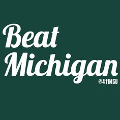 Ready to destroy Michigan tomorrow? #MSU #Spartans #basketball
