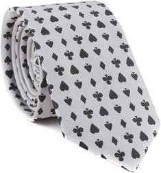 Mens Let it Roll Dice Repeat Novelty Necktie Tie