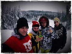 Наша команда сноубордистов