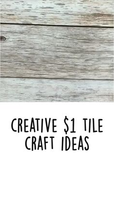 Tile Crafts, Diy Home Crafts, Creative Crafts, Holiday Crafts, Crafts To Make, Fun Crafts, Christmas Crafts, Xmas, Craft Corner