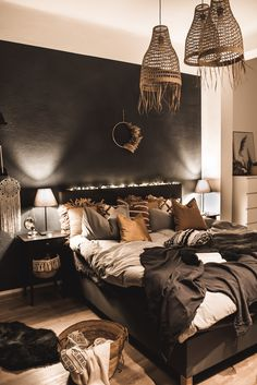 Room Ideas Bedroom, Home Decor Bedroom, Small Room Bedroom, Small Rooms, Zen Bathroom Decor, Western Bedroom Decor, Western Rooms, Room Design Bedroom, Bohemian Bedroom Decor
