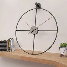 """Large Metal Nordic Style Wall Clock Household Bedroom Iron Art Clocks Wall Watch Home Decor"""" Minimalist Wall Clocks, Minimalist Decor, Minimalist Style, Wall Watch, Clock Decor, Clock Wall, Iron Art, Modern Farmhouse Decor, Do It Yourself Home"""
