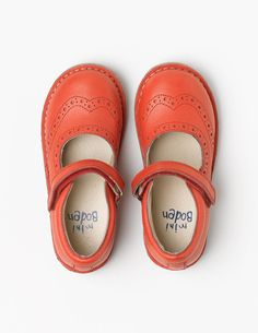Leather Mary Janes 54035 Shoes at Boden