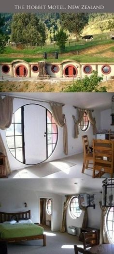 Is second breakfast included? I WANT TO GO HERE... Lord of the Rings Hobbit inspired motel in New Zealand