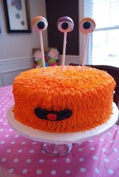 "Photo 26 of Cute Monsters / Birthday ""Ellie's Birthday Monster Bash"" Monster Birthday Parties, Monster Party, 1st Boy Birthday, Monster Cakes, Cake Pops, Cute Monsters, Cakes For Boys, Piece Of Cakes, Cupcake Cakes"