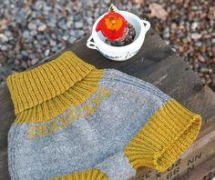 91826. STICKADE MAMELUCKER Cute Pattern, Catsuit, Leg Warmers, Ravelry, Knitted Hats, Knit Crochet, Underwear, Trousers, Men Sweater