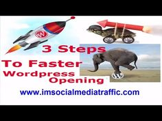 3 steps to faster Wordpress Blog opening For your  Free Social Media Traffic tips & strategies Guide –  Use this clickable link - http://www.imsocialmediatraffic.com