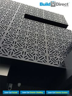 BuildDirect Africa - Laser Cutting and CNC Routing Laser Cut Screens, Laser Cut Panels, Metal Panels, Laser Cut Aluminum, Laser Cut Metal, Laser Cutting, Exterior Wall Panels, Exterior Wall Cladding, Cladding Design
