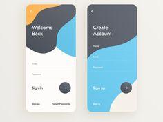 Sign in / Sign up UI by Giga Tamarashvili