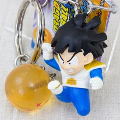 Dragon Ball Z Son Gohan Battle Suits Figure Key Chain JAPAN ANIME MANGA