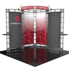 The 10' x 10' Truss Display- Cygnus is one of the Trade Show Booth Truss configurations that we offer.