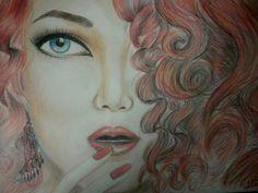 Red hair girl by bigboss