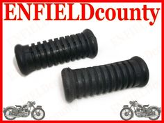 BRAND NEW ROYAL ENFIELD BULLET REAR FOOTREST RUBBER