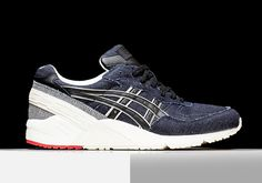 ASICS IS BACK WITH MORE SELVEDGE DENIM ON THEIR CLASSIC RUNNERS