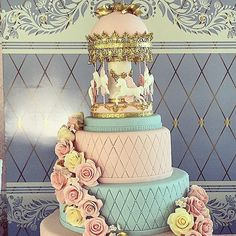CAROUSEL CAKE- pubblicato in Cucina Chic Cake Design n°20/21 by ...