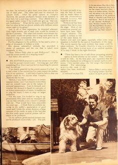 Is Nelson Eddy Leaving the Screen? (Part 2)