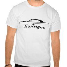 Dodge Dart Swinger Muscle Car Design T Shirt, Hoodie Sweatshirt