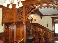 Victorian Gingerbread Interior | GOTTA LOVE THAT VICTORIAN GINGERBREAD!