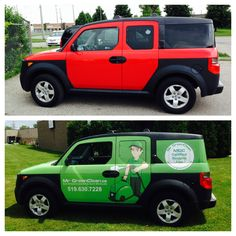 Speedpro Imaging London designed, printed and installed this wrap for Mr. Green Clean!  They used 3M perf on the windows and Avery for the wrap.  Looks amazing!