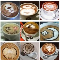 Feel free to add your favorite Latte Art...or even your own creations!