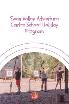 If you are looking to get your kids off the tech and be outdoors and active this school holidays then look no further than The Swan Valley Adventure Centre!Sprawled over 90 acres of peaceful Swan Valley bushland with direct river access, The Swan Valley Adventure Centre offers a safe and secure world of adventure that is challenging, exciting, and transforming. Adventurers will leave the day dirty, sweaty and exhausted but will have had the best day ever! #perth #perthkids School Holiday Programs, Adventure Center, School Holidays, Best Day Ever, Exhausted, Perth, Great Places, Swan, Acre