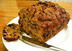Welsh Recipe - Welsh Bara Brith - My grandmother would have a slice of this spread with butter, Welsh butter of course!
