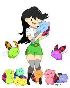 Beth and Catbug from Bravest Warriors