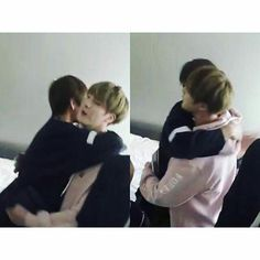 Argh Taejin //this hug <3  #bts