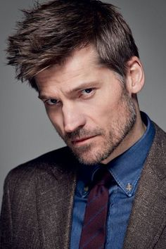 HOLY HELL would someone look at me the way Nikolaj Coster Waldau is looking at the camera already?! Please?!