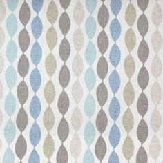 Clarke & Clarke Festival Fabrics Twist Fabric - Mineral - F0481/03
