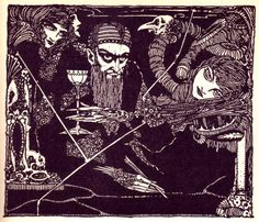 Harry Clarke's Beautiful and Haunting 1925 Illustrations for Goethe's Faust –…