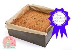 Three Ingredient Fruit Cake | Stay at Home Mum