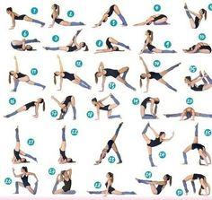 30 поз стретчинга для гибкого тела