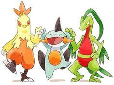 Pokemon Generation 3 Starters | Anime Amino All Pokemon, Pokemon Fan Art, Cute Pokemon, Pokemon Stuff, Pokemon Images, Pokemon Pictures, Pokemon Starters, Mudkip, Pokemon Official