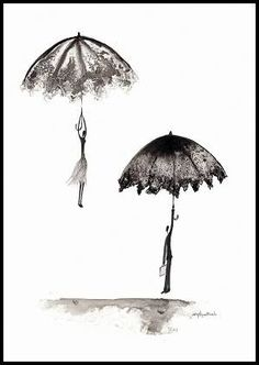 Krystyna Siwek - rain - abstract gallery Rain Street, Abstract, Gallery, Drawings, Illustration, Pictures, Art, Summary, Photos