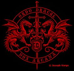 Ordo Dracul: Order of the Dragon symbol. No historical correlation,but a nice design for a Dracula film.